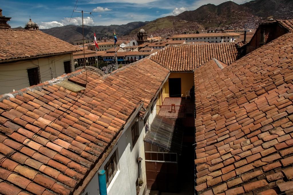 Nad dachami Cusco
