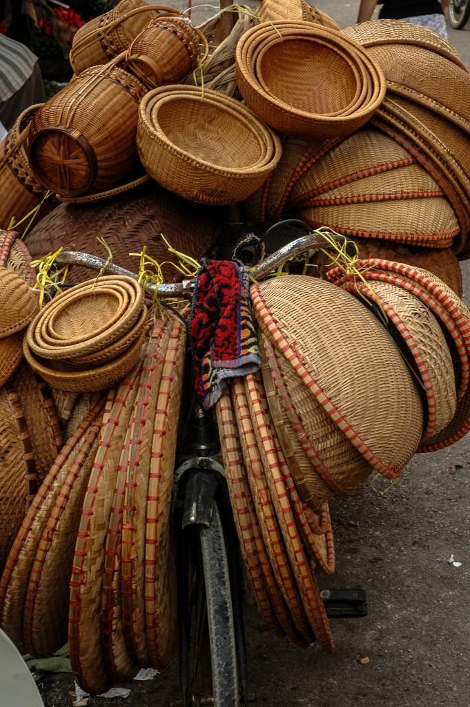 Kosze, koszyki i koszyczki - Wietnam, Hanoi