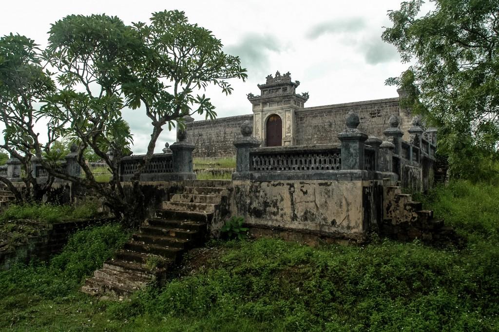 Grobowiec - Wietnam, Hue