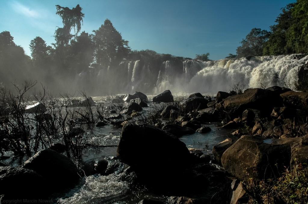 Wodospad, płaskowyż Bolaven