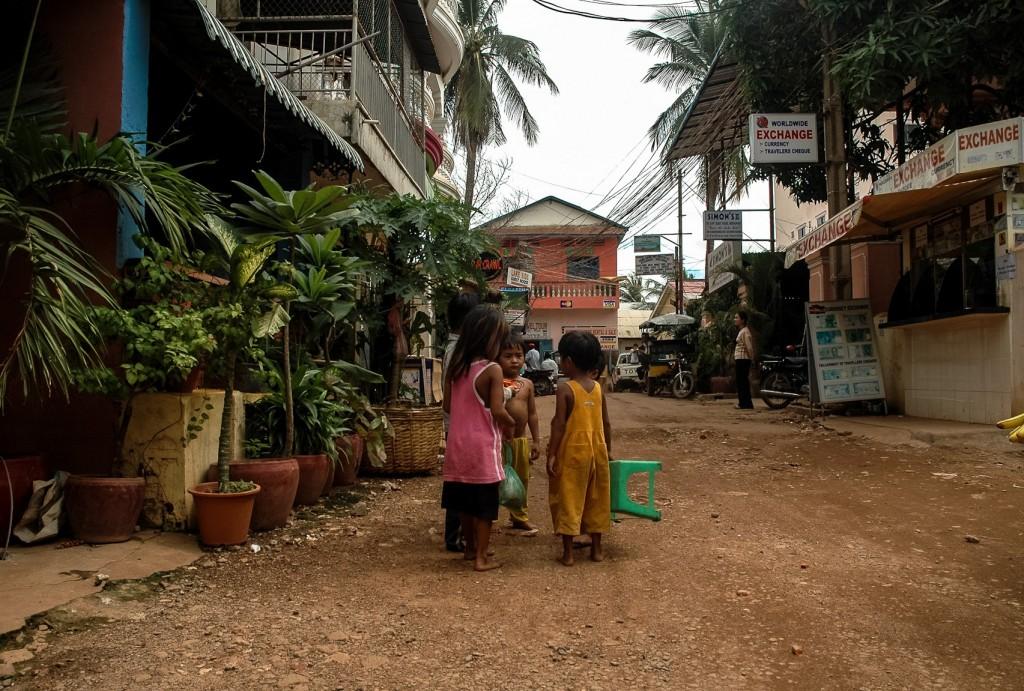 Na ulicy w Phom Penh