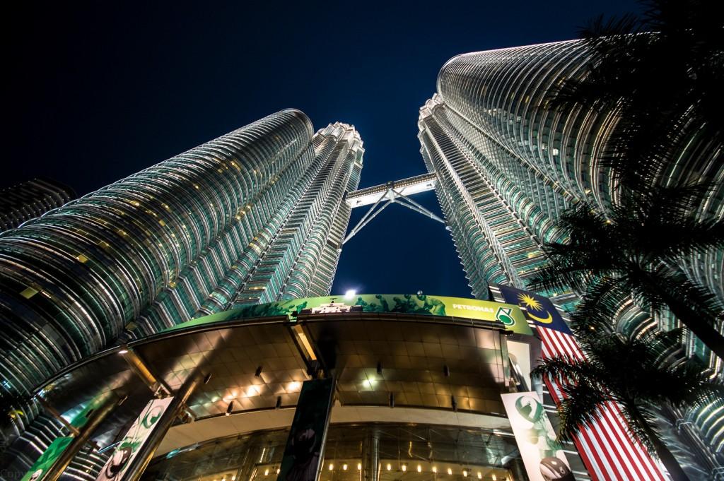 Petronas Towers - niegdyś najwyższy budynek świata