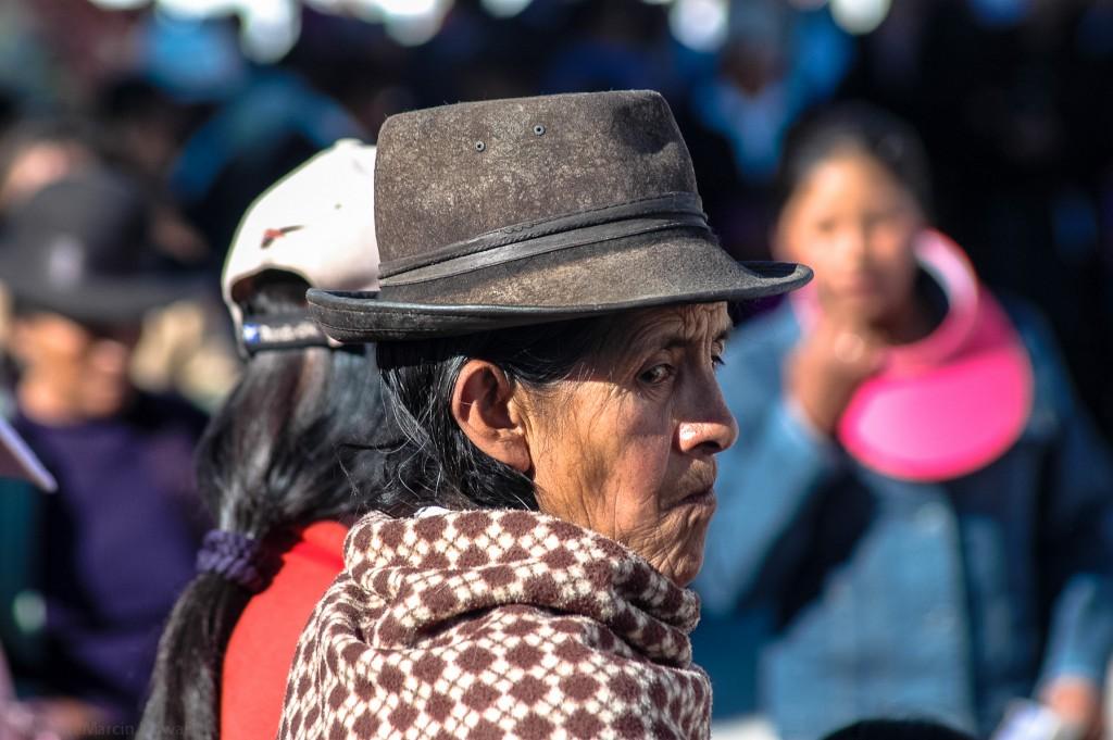 Indianka w Boliwii
