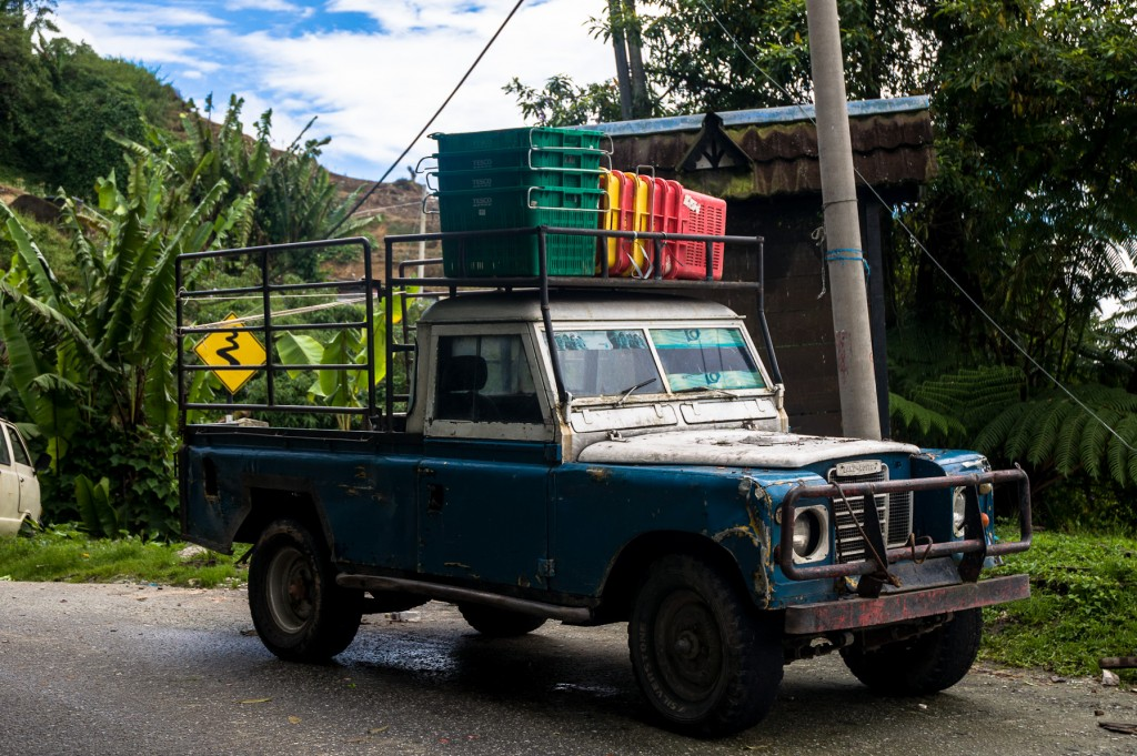 Land Rover w Cameron Highlands