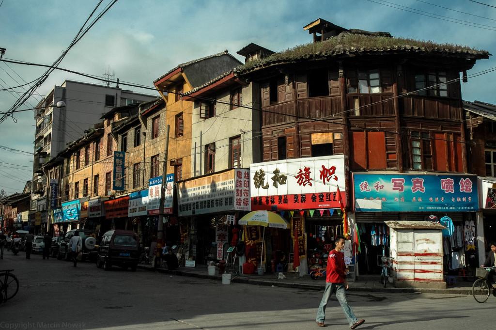 Stara zabudowa w Chinach