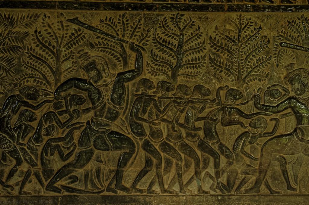 PłaskorzeĹşba z Angkoru