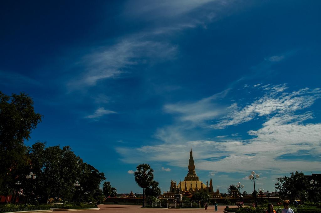 Wielka stupa - Wientian