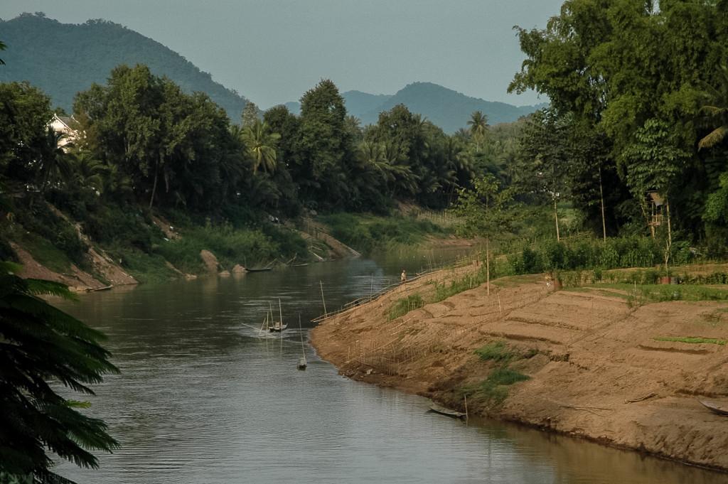 Mekong w okolicach Luang Prabangu