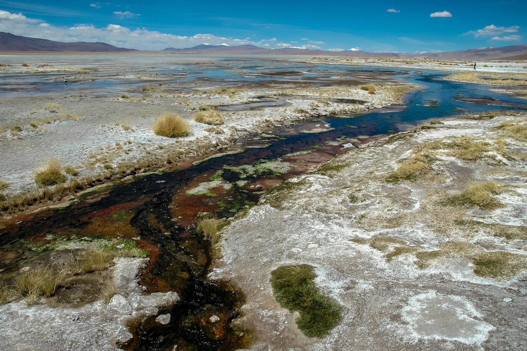 Ciepłe Ĺşródła niedaleko San Pedro de Atacama
