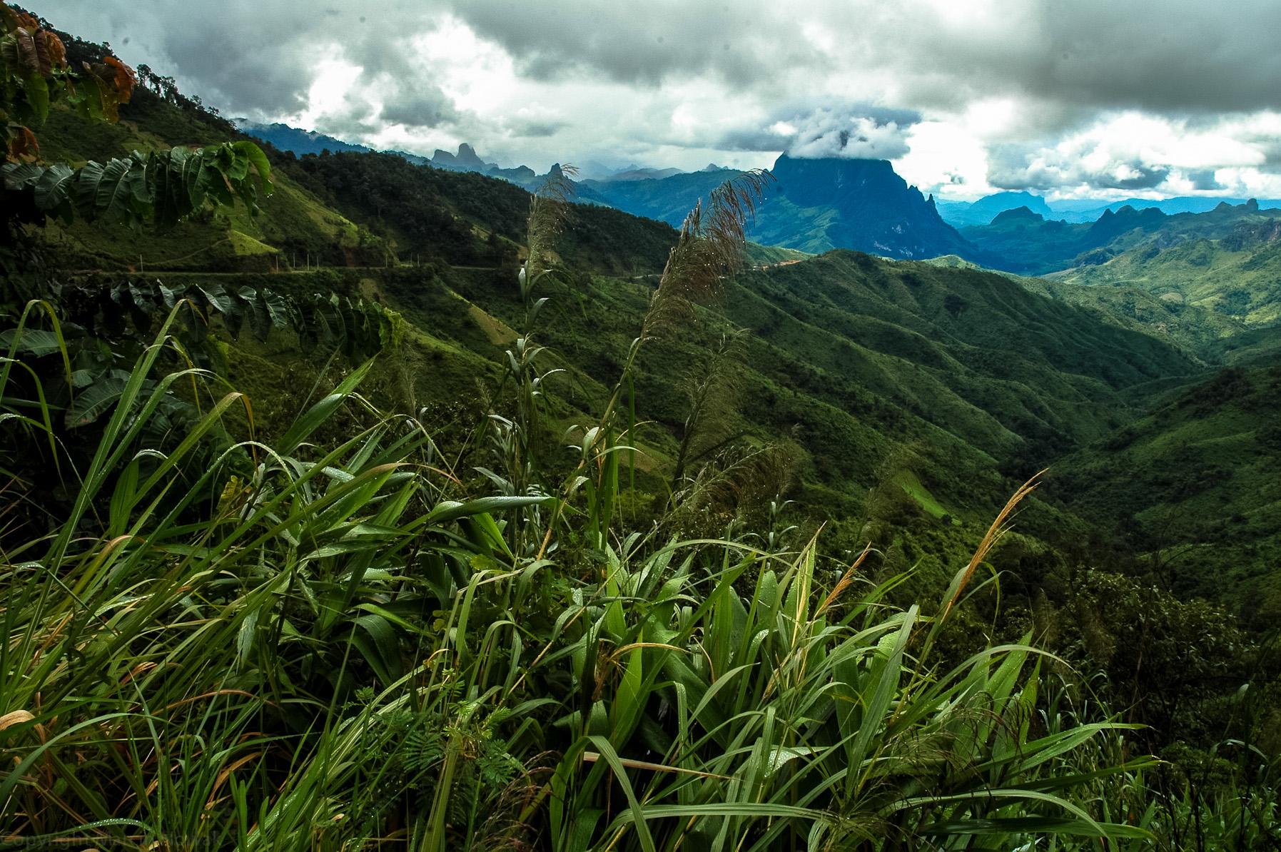 Góry Laosu
