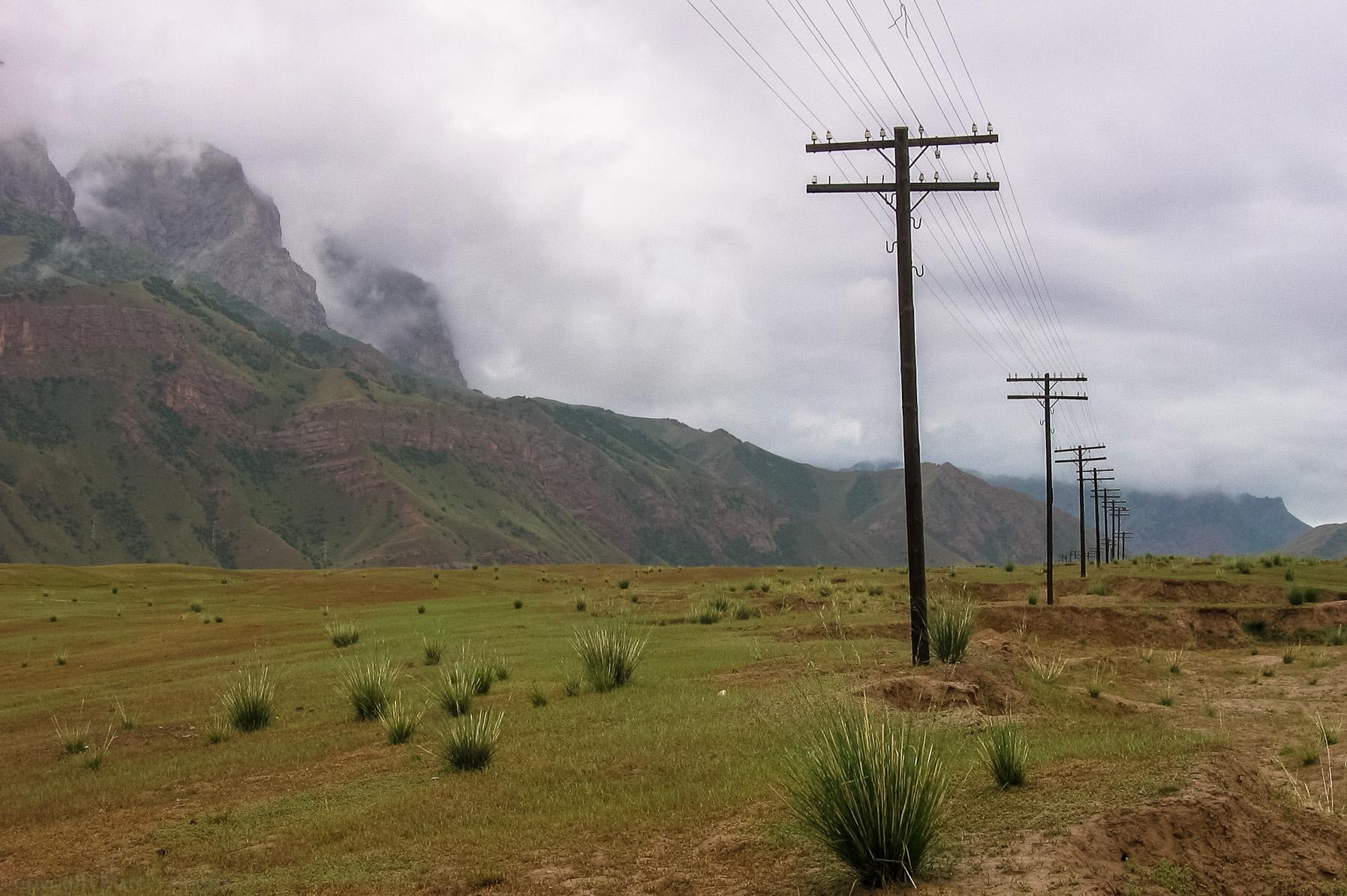 Kirgiski krajobraz
