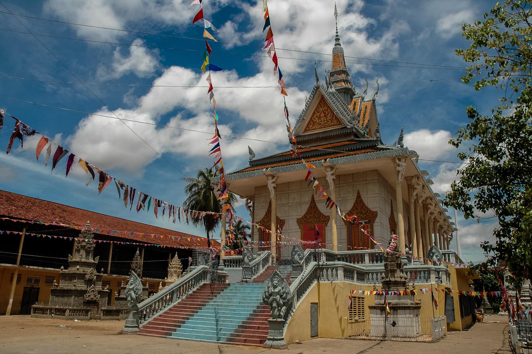 Pagoda w Phnom Pehn