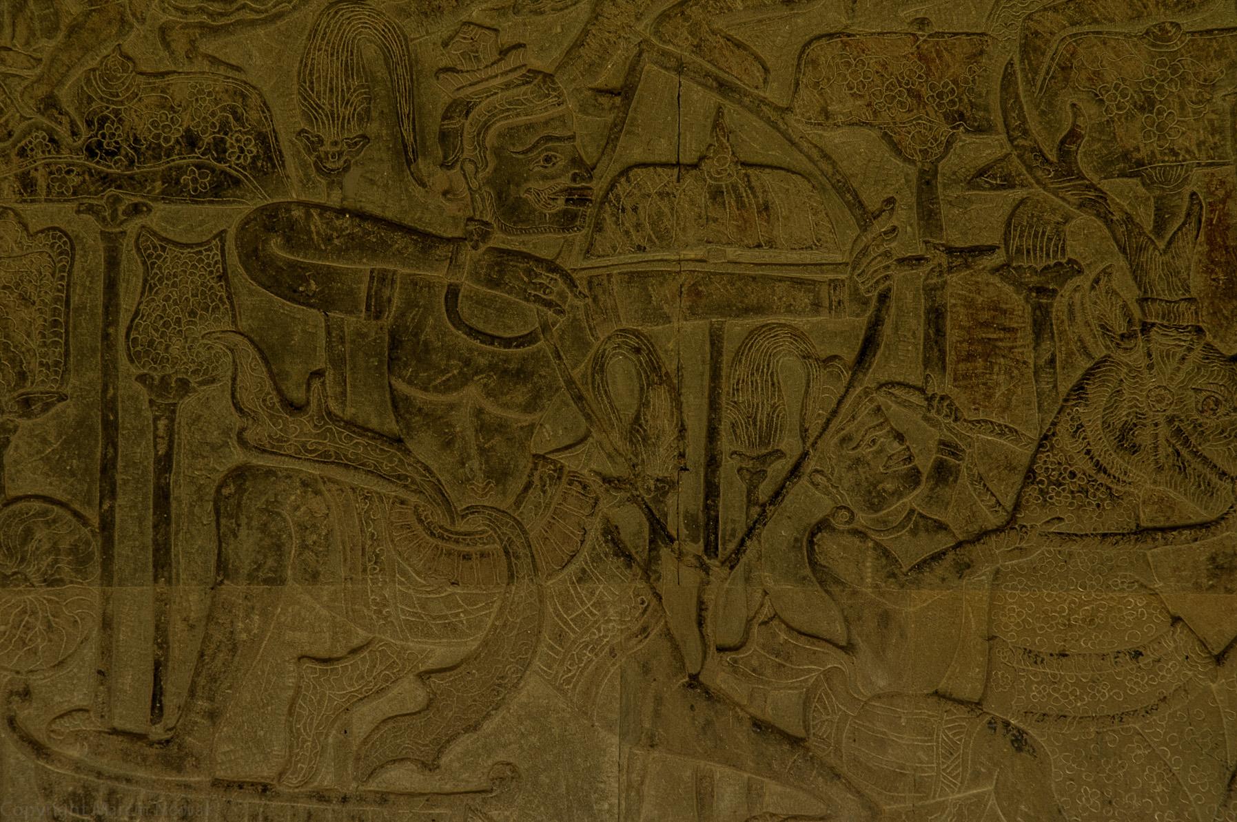 PłaskorzeĹşba z Angkor Watu
